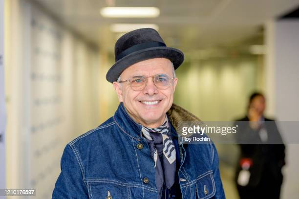 Joe Pantoliano visits Sways Universe with host Sway Calloway at SiriusXM Studios on March 3 2020 in New York City