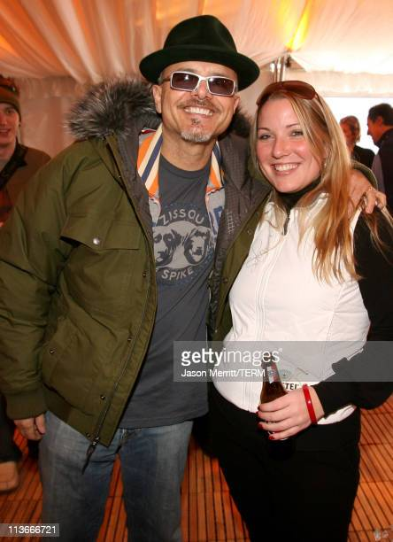 Joe Pantoliano wearng The North Face with Amstel Light at The Ice Lounge presented by The North Face, Lexus, and St. Regis.*Exclusive*