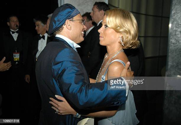 Joe Pantoliano winner of the outstanding supporting actor in a drama series and Christina Applegate