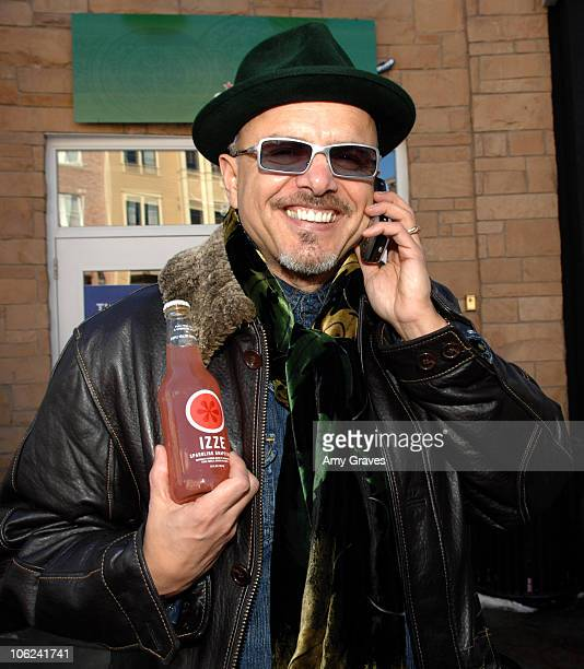 Joe Pantoliano with IZZE during 2007 Park City IZZE in Park City at the Sundance Film Festival at Park City in Park City Utah United States