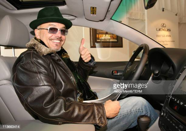 Joe Pantoliano with Lexus at The Ice Lounge presented by The North Face, Lexus, and St. Regis.*Exclusive*