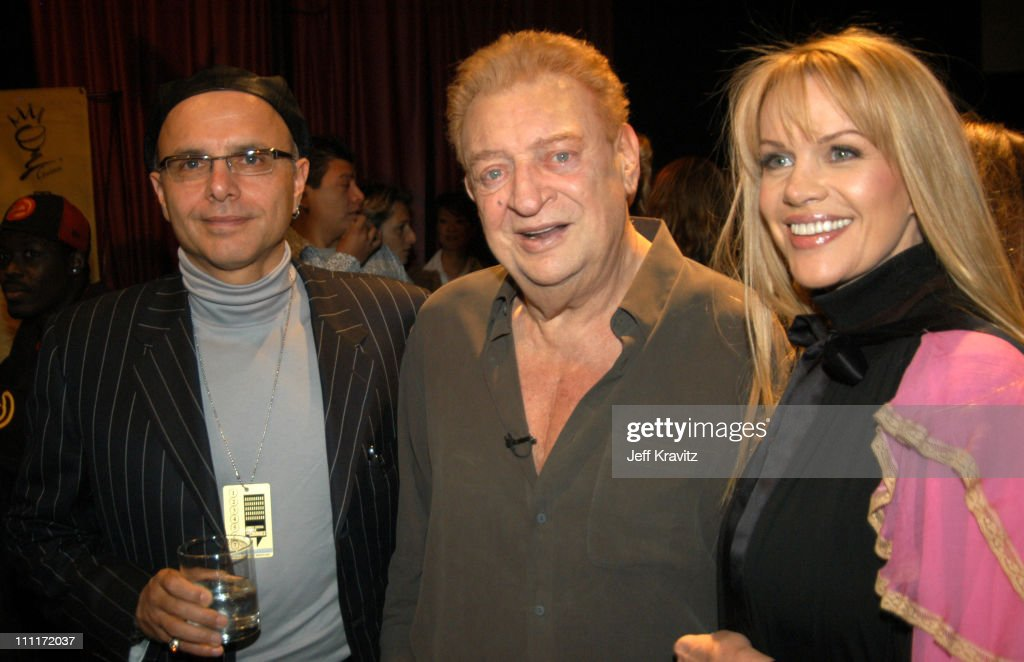 Joe Pantoliano with Rodney Dangerfield and wife Joan Child