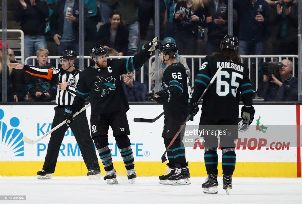 Winnipeg Jets v San Jose Sharks : News Photo