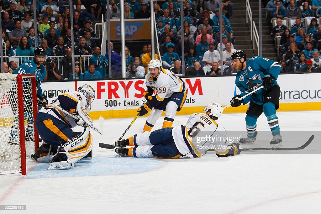 Nashville Predators v San Jose Sharks - Game Seven : News Photo