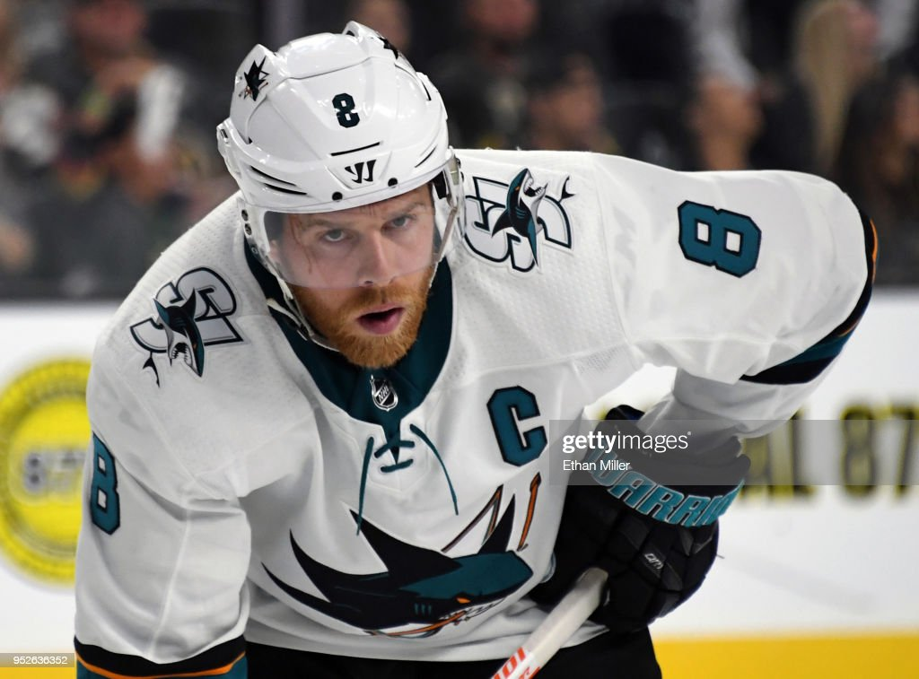 San Jose Sharks v Vegas Golden Knights - Game Two : News Photo