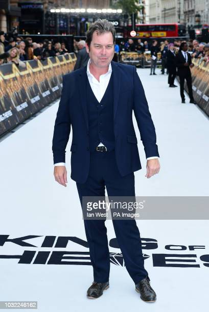 Joe Penhall arriving for the King of Thieves World Premiere held at Vue West End Leicester Square London PRESS ASSOCIATION Photo Picture date...