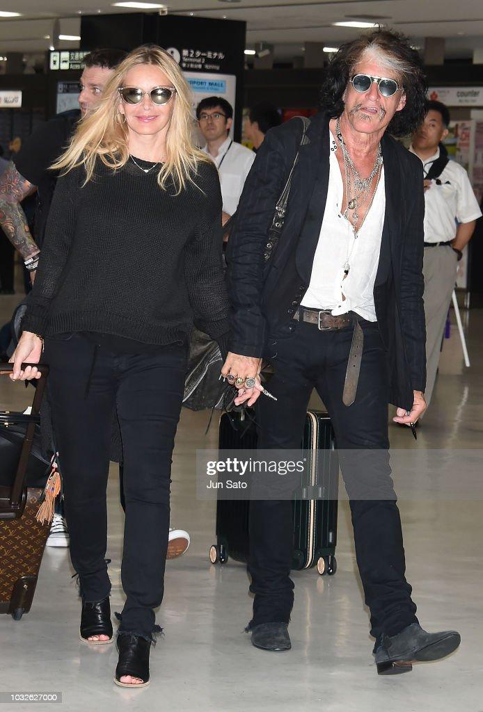 Joe Perry Arrives In Tokyo : News Photo