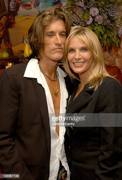"Joe Perry and Billie Paulette Montgomery during ""People We Know, Horses They Love"" - Book Launch Party at Fresco To Go in New York City, New York,..."