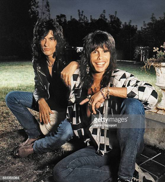 Joe Perry and Steven Tyler of Aerosmith