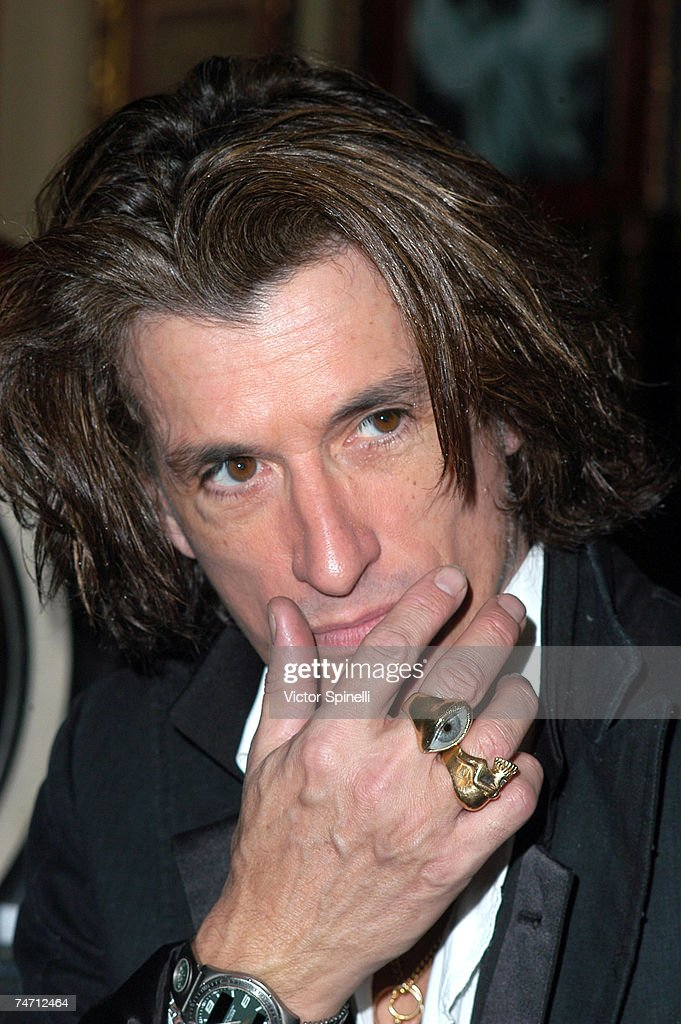 Joe Perry of Aerosmith at the Hard Rock Cafe in Beverly Hills, California