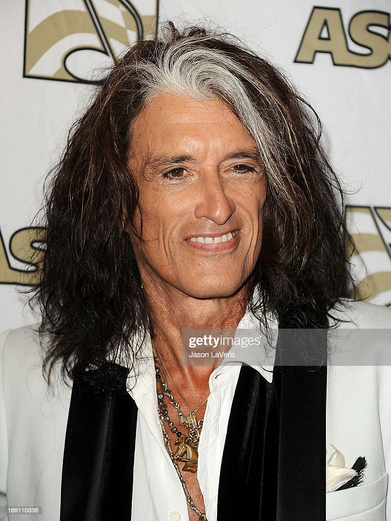 Joe Perry of Aerosmith attends a press conference and presentation of the ASCAP Founders Award at Sunset Marquis Hotel & Villas on April 8, 2013 in West Hollywood, California.