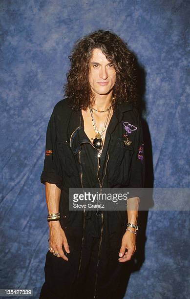 Joe Perry of Aerosmith during Aerosmith File Photos in Los Angeles California United States