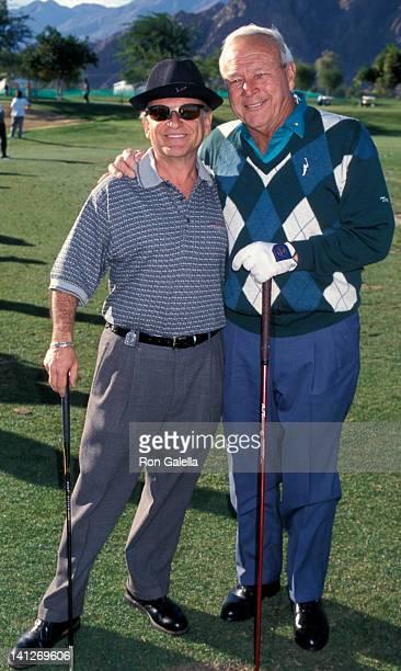 Joe Pesci and Arnold Palmer at the 1998 Lexus Challenge Benefit Golf Tournament, La Quinta Resort & Counrty Club, La Quinta.