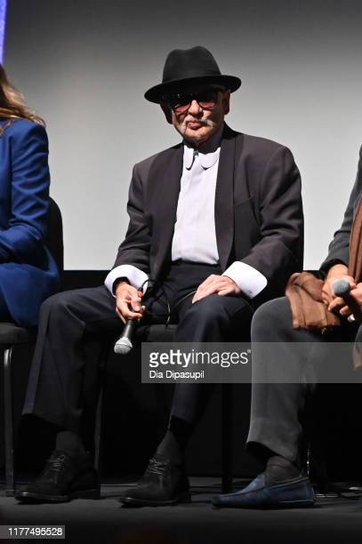 Joe Pesci at The Irishman press conference during the 57th New York Film Festival at Alice Tully Hall Lincoln Center on September 27 2019 in New York...