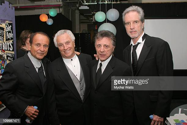Joe Pesci left with Frankie Vali and The Four Seasons and