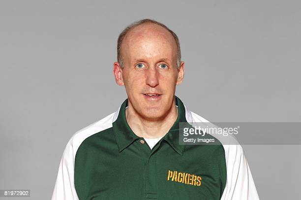 Joe Philbin of the Green Bay Packers poses for his 2008 NFL headshot at photo day in Green Bay Wisconsin