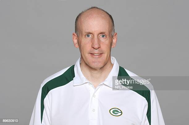 Joe Philbin of the Green Bay Packers poses for his 2009 NFL headshot at photo day in Green Bay Wisconsin