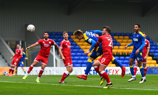 GBR: AFC Wimbledon v Crawley Town - FA Cup Second Round