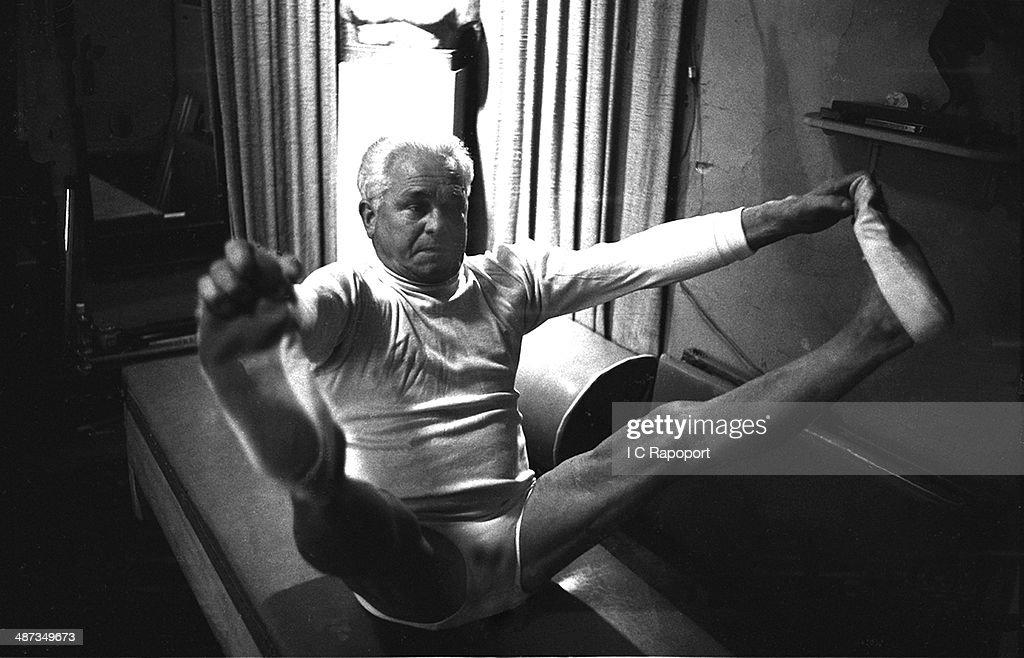 Joseph Pilates : News Photo