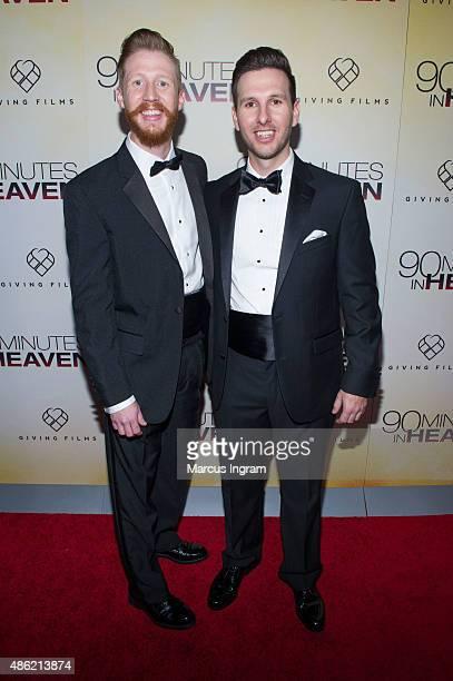 Joe Piper and Chris Piper attend '90 Minutes In Heaven' Atlanta premiere at Fox Theater on September 1 2015 in Atlanta Georgia