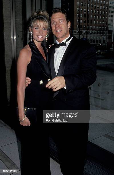 Joe Piscopo and wife during 3rd Annual National Entertainment Awards To Benefit One to One Partnership at Lincoln Center in New York City, New York,...