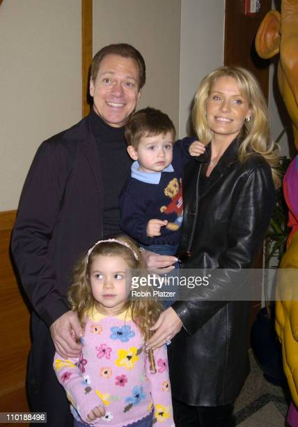 Joe Piscopo and wife Kimberly and daughter Alexandra and son Michael