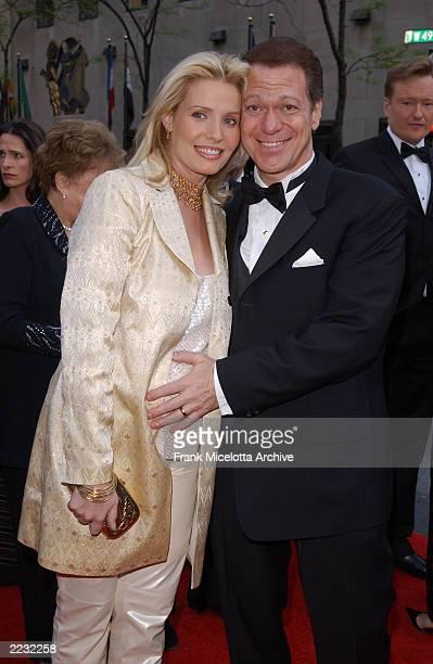 Joe Piscopo and wife Kimberly arrive for the NBC 75th Anniversary celebration taking place live in Studio 8H in Rockefeller Center in New York City...