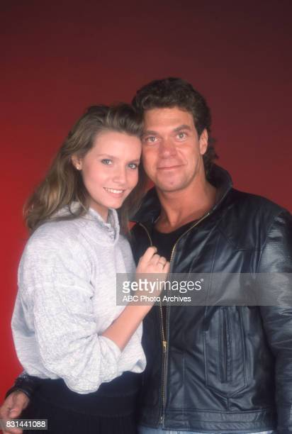 Joe Piscopo and wife Kimberly Driscoll on 'Dolly' in 1987