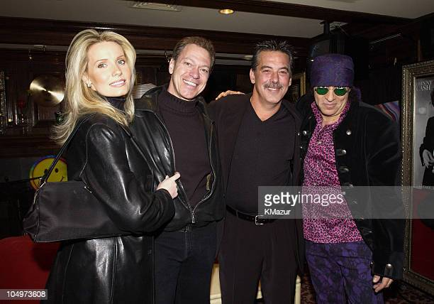 Joe Piscopo and wife Kimberly Pete Beaudrault President and CEO of Hard Rock Cafe and Little Steven Van Zandt