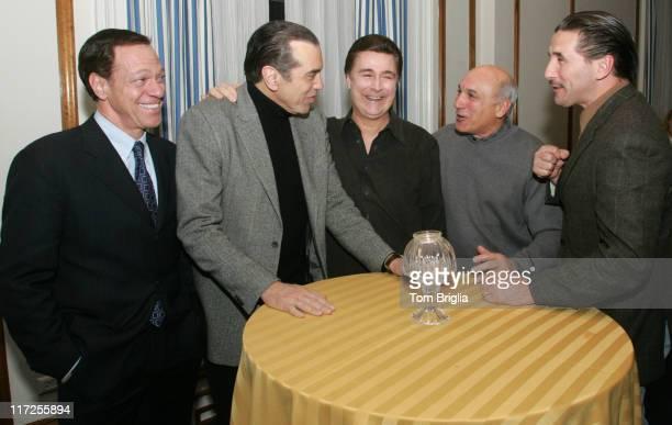 Joe Piscopo, Chazz Palminteri, Lou Rossi, Ex-FBI Agent Joe Pistone and Billy Baldwin