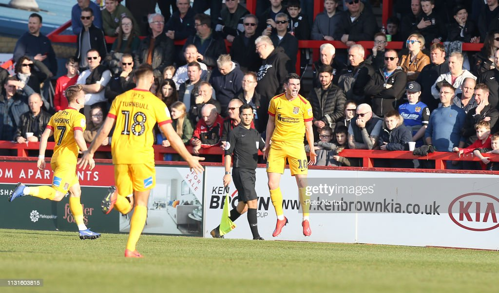 GBR: Stevenage v Northampton Town - Sky Bet League Two