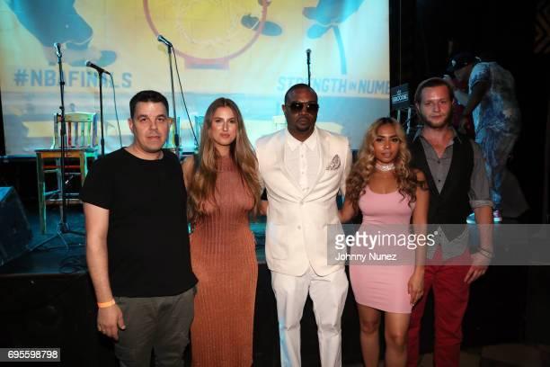 Joe Puma Natalie Friedman DL Clark Piarry Oriol and Orrin Hunter attend the KOPC Origins New York Screening at SOB's on June 12 2017 in New York City