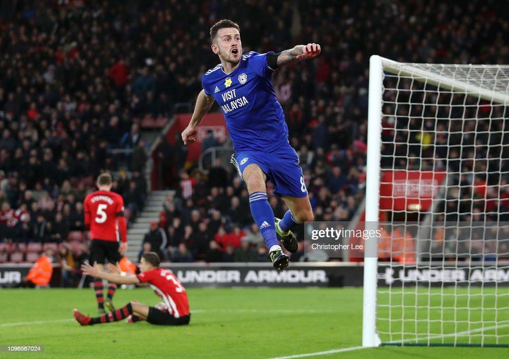 GBR: Southampton FC v Cardiff City - Premier League