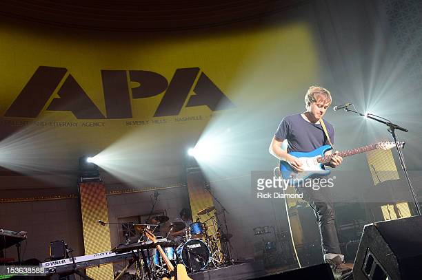 Joe Robinson performs during APA Party at IEBA Conference Day 1 at the War Memorial Auditorium on October 7 2012 in Nashville Tennessee