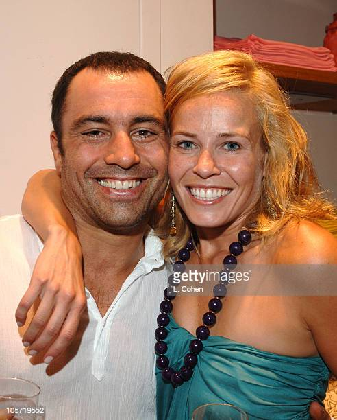 Joe Rogan and Chelsea Handler author of 'My Horizontal Life'