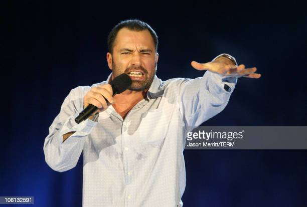 Joe Rogan during HBO AEG Live's The Comedy Festival Maxim Real Men of Comedy at Caesars Palace in Las Vegas Nevada United States