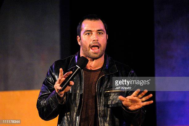 Joe Rogan during The 10th Annual US Comedy Arts Festival Day One at St Regis Hotel in Aspen Colorado United States