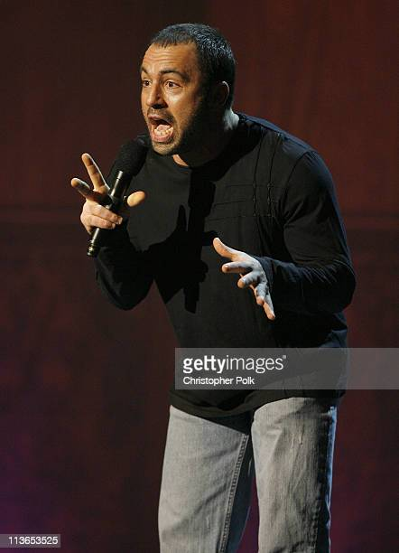 Joe Rogan presenter during First Annual Spike TV's Guys Choice Show at Radford Studios in Los Angeles California United States