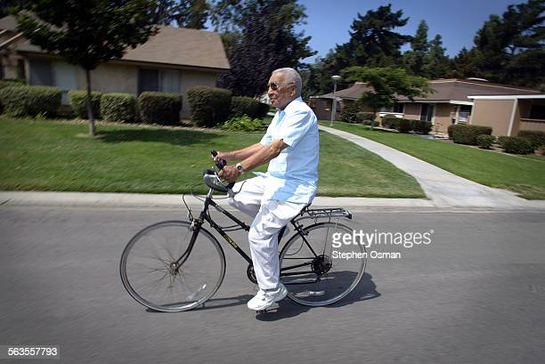 Joe Romero 85 has live at Leisure Village in Camarillo with his wife Charlotte 83 for 30 years Joe rides his bike everyday Thursday marks the 30th...