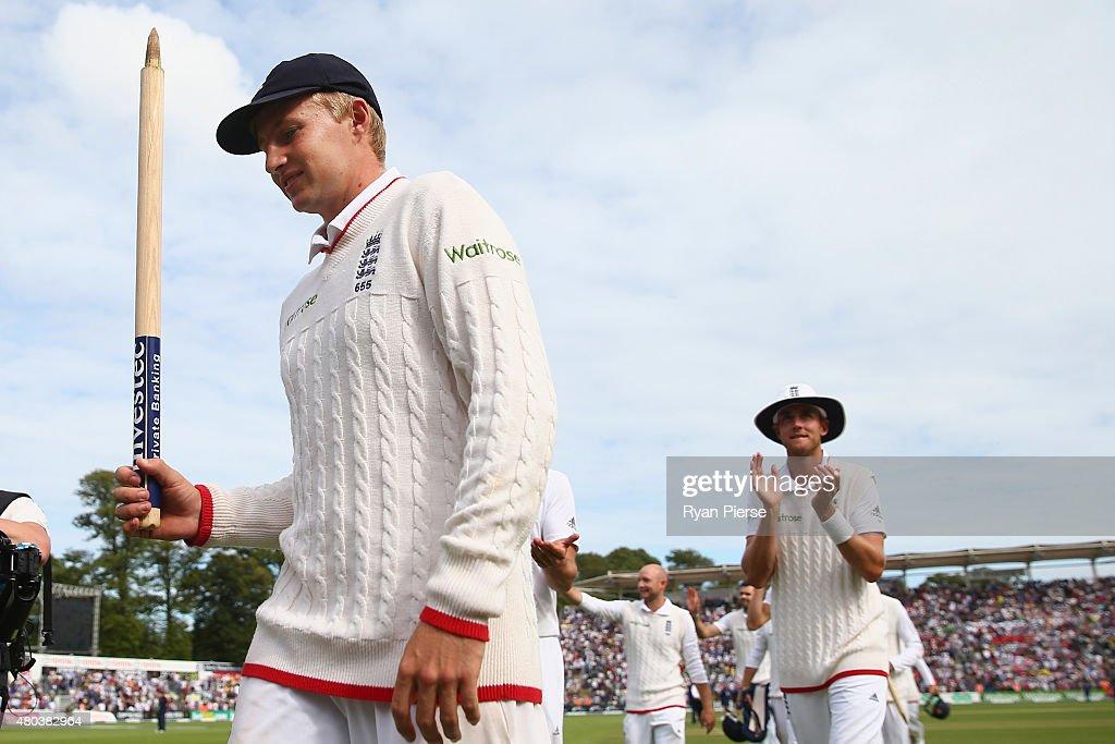 England v Australia: 1st Investec Ashes Test - Day Four : News Photo