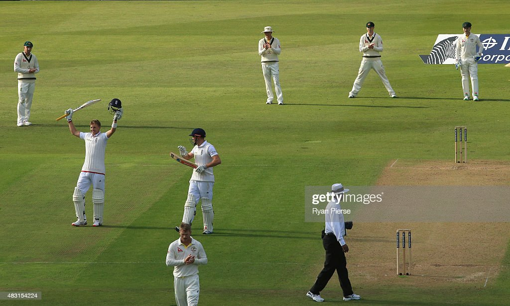 England v Australia: 4th Investec Ashes Test - Day One : News Photo