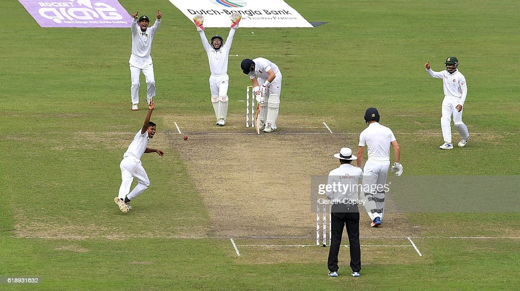 Bangladesh v England - Second Test: Day Two : ニュース写真