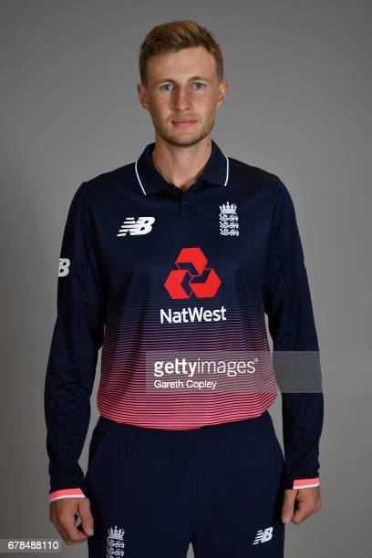 Joe Root of England poses for a portrait at The Brightside Ground on May 4 2017 in Bristol England