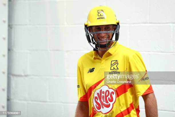 Joe Root of Trent Rockets one of the eight new mens and womens teams that will be competing in new 100 ball cricket competition The Hundred starting...
