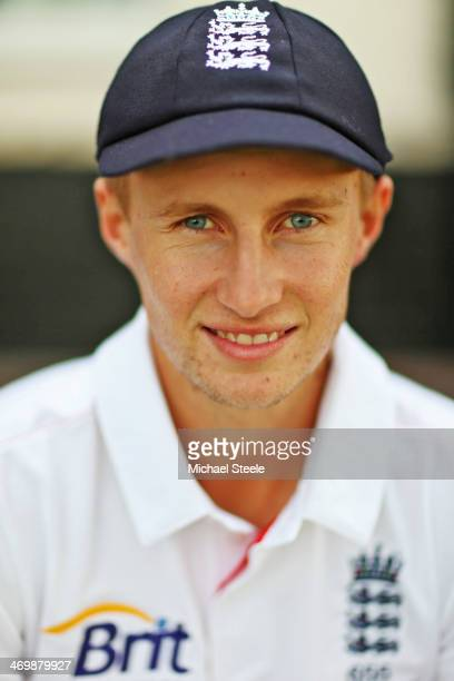 Joe Root of Yorkshire and England poses for a portrait on October 15 2013 in Nottingham England