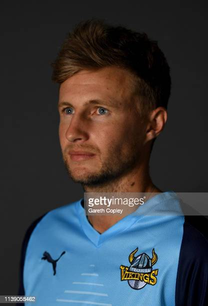 Joe Root of Yorkshire poses for a portrait during the annual photocall day at Headingley on March 29 2019 in Leeds England