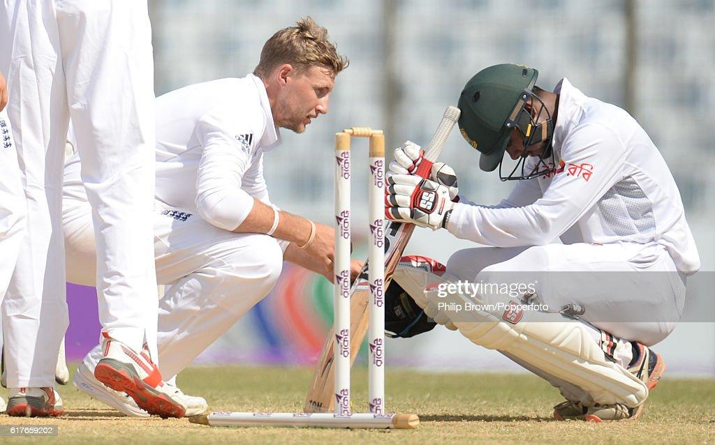Bangladesh v England - First Test: Day Five : News Photo
