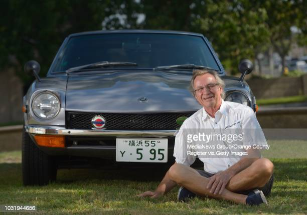 Joe Rotz and his '72 Nissan Fairlady Z in Stanton on Tuesday Rotz owns what appears to be an early 1970s Datsun 240Z But appearances can be deceiving...
