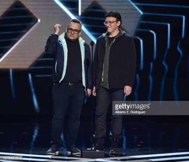Joe Russo and Anthony Russo attend The 2018 Game Awards at Microsoft Theater on December 06, 2018 in Los Angeles, California.