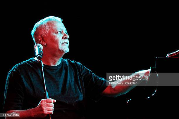 Joe Sample performs on stage during The Hague Jazz Festival at Kyocera Stadium on June 18 2011 in The Hague Netherlands